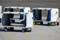 Cargo Carts Royalty Free Stock Photo