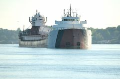 Cargo chargé Photos libres de droits