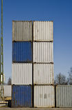 Cargo Container Royalty Free Stock Photography