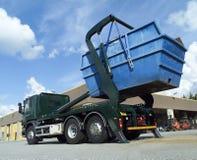 Cargo Container Stock Photo