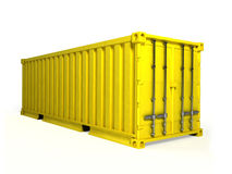 Free Cargo Container 3D Royalty Free Stock Photography - 89671547