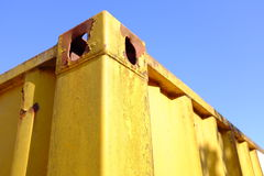 Cargo container abstract Royalty Free Stock Image