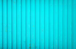 Cargo container background. Background made of blue metal cargo container Stock Images