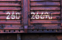 Cargo container box background Stock Images