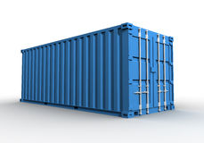 Cargo container concept illustration Royalty Free Stock Images