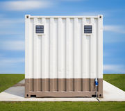Cargo container Royalty Free Stock Photo