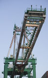 Cargo Container Crane Stock Photography