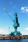 Cargo Container Crane Royalty Free Stock Image
