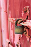 Cargo Container Front. Red Cargo Container Royalty Free Stock Photos