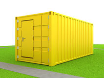 Cargo container Stock Image