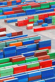 Cargo container in port - trasnportation Royalty Free Stock Image