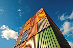 Cargo Container Staple Royalty Free Stock Photo