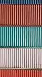 Cargo Container Staple Royalty Free Stock Photography