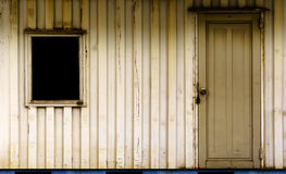 Cargo container temporary home Stock Photos