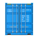 Cargo container texture, front view Stock Image