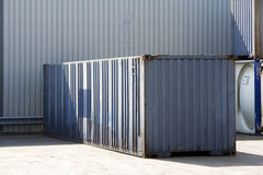 Cargo container Royalty Free Stock Images
