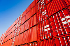 Cargo containers Stock Photos