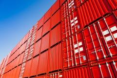 Cargo containers Stock Photos