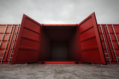 Cargo containers. Stock Image