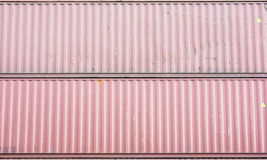 Cargo containers texture Stock Image