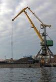 Cargo crane Stock Images