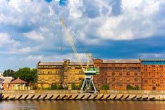 Cargo crane Stock Photo