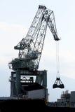 Cargo crane royalty free stock photos