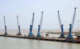 Cargo crane Royalty Free Stock Image