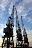 Cargo Cranes Royalty Free Stock Photography