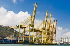 Cargo Cranes Royalty Free Stock Image