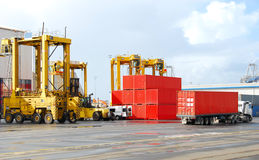 Free Cargo Cranes Royalty Free Stock Images - 6113059