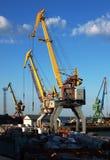 Cargo cranes closeup Stock Image