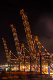 Cargo cranes Stock Photography