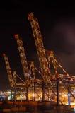 Cargo cranes Stock Photography