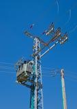 Cargo da distribuição da energia elétrica imagens de stock royalty free