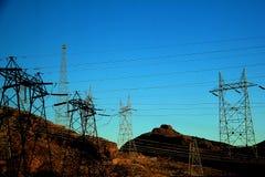 Cargo da eletricidade Imagens de Stock