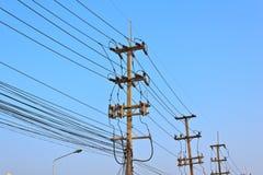 Cargo da eletricidade Foto de Stock