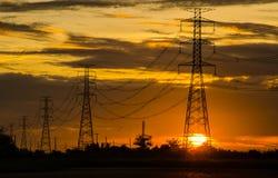 Cargo da eletricidade Imagem de Stock