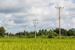 Cargo da eletricidade Fotografia de Stock