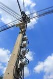 Cargo da eletricidade Fotos de Stock Royalty Free
