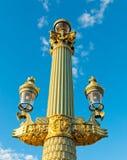Cargo da lâmpada de Paris foto de stock