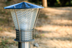 Cargo da lâmpada de rua Fotografia de Stock