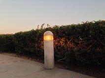 Cargo da lâmpada na passagem Foto de Stock
