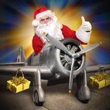 Cargo de la Navidad Foto de archivo