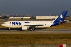 Cargo de MNG Foto de archivo