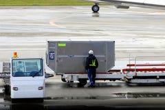 Cargo del cargamento Fotos de archivo libres de regalías