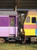 Cargo del tren Fotos de archivo libres de regalías