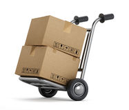 Cargo delivery Stock Image