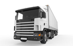 Cargo Delivery Truck Royalty Free Stock Images