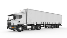 Cargo Delivery Truck Stock Photography